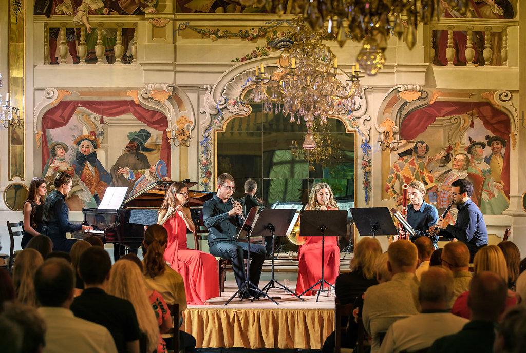 Mezinárodní hudební festival Český Krumlov - Francisextet,